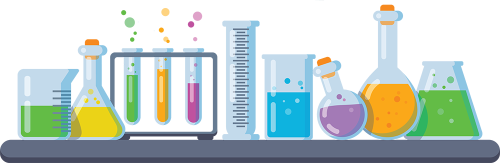 Research Lab Illustration