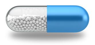 Vitamin Pill Illustration