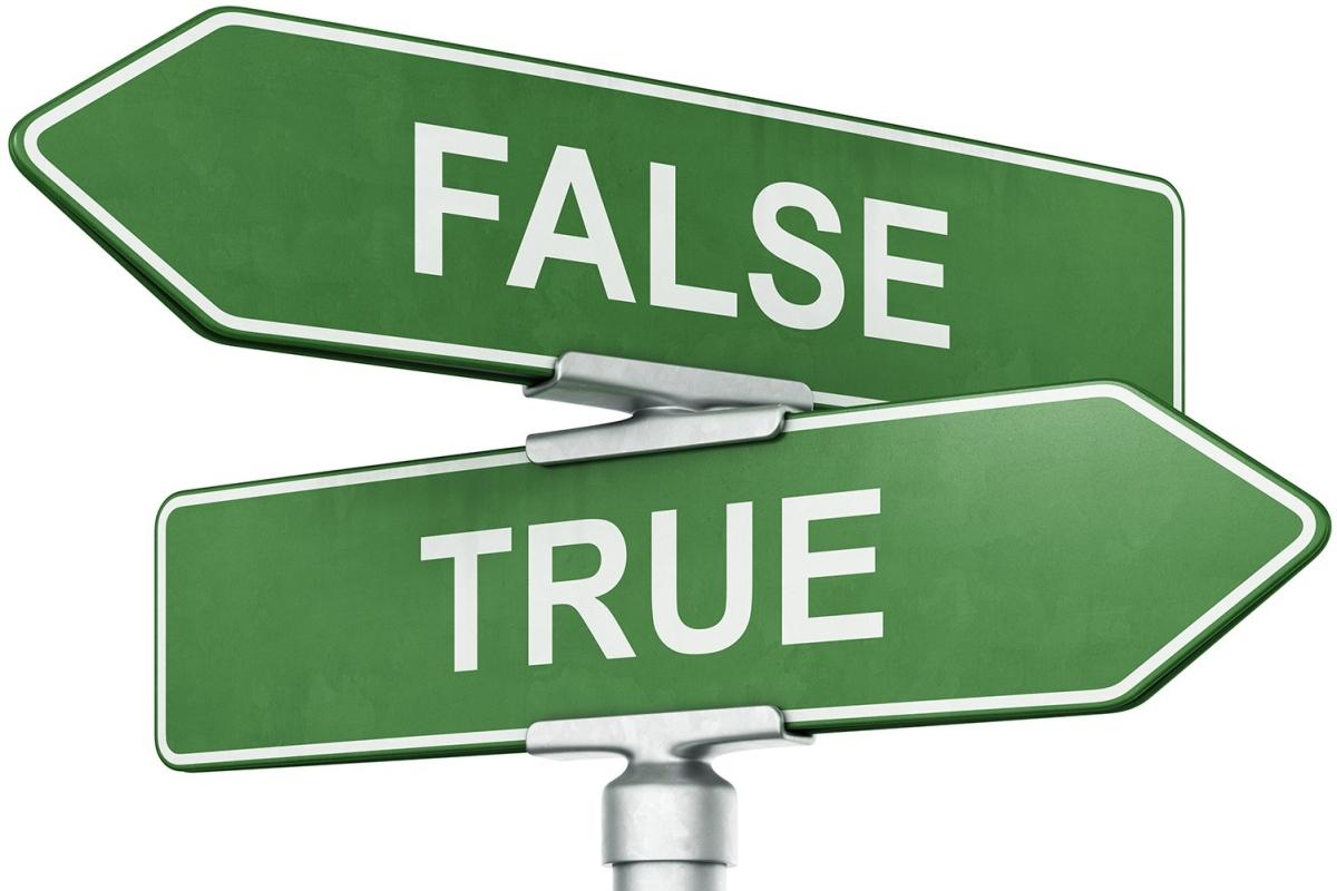 True or False Image
