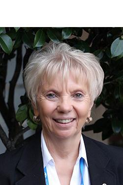Photo of Liz Trauernicht, President of the Macular Degeneration Foundation